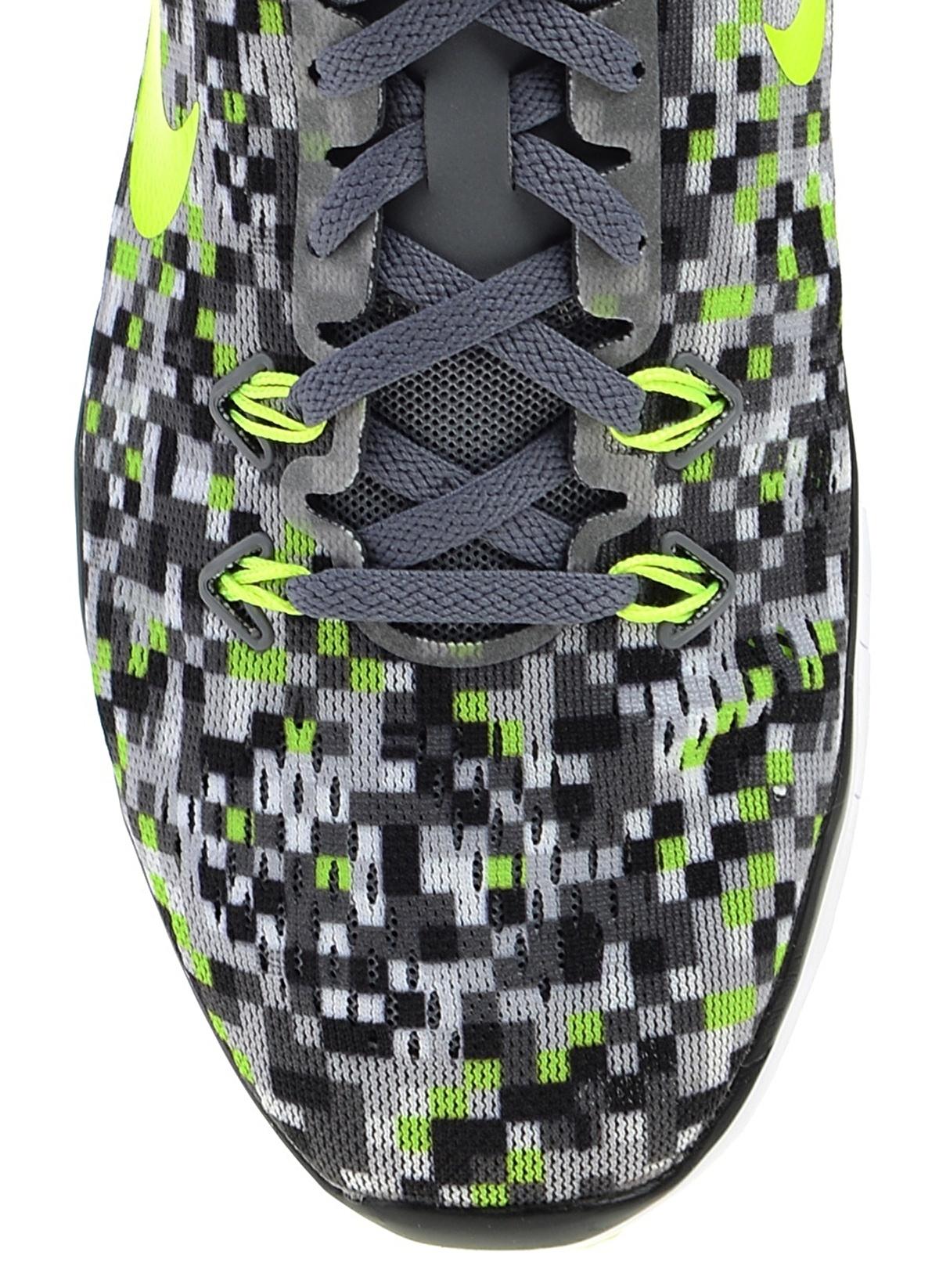 get online promo code latest Nike Kadın Wmns Nke Free 5.0 Tr Fit 5 Prt Cool Grey/Black-Volt ...